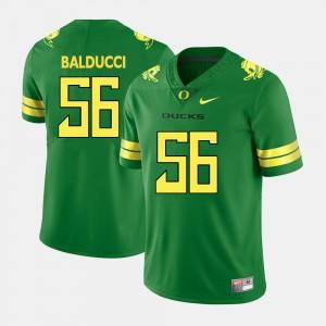 Oregon Ducks Alex Balducci Jersey Green #56 Men College Football
