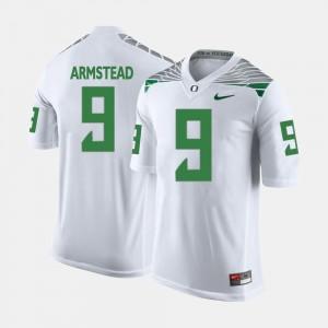 Oregon Ducks Arik Armstead Jersey White Mens College Football #9