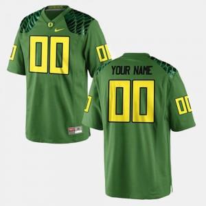 Oregon Ducks Customized Jersey For Men's Green College Football #00