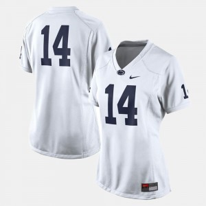 Penn State Nittany Lions Jersey #14 College Football For Women's White