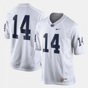 Penn State Nittany Lions Jersey White College Football #14 For Men