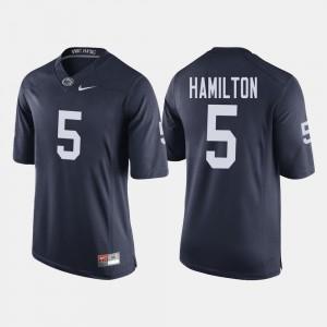 Penn State Nittany Lions DaeSean Hamilton Jersey College Football Men's Navy #5