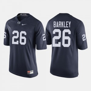 Penn State Nittany Lions Saquon Barkley Jersey Navy #26 College Football For Men's