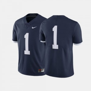 Penn State Nittany Lions Jersey Men Navy #1 Throwback
