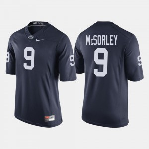 Penn State Nittany Lions Trace McSorley Jersey Navy College Football #9 For Men's
