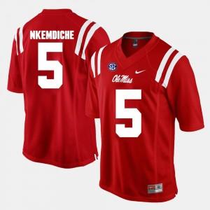 Ole Miss Rebels Robert Nkemdiche Jersey Alumni Football Game Red Mens #5