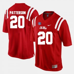 Ole Miss Rebels Shea Patterson Jersey Men's #20 Alumni Football Game Red