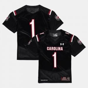South Carolina Gamecocks Jersey Youth Black College Football #1