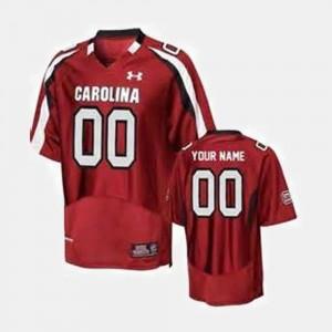South Carolina Gamecocks Custom Jerseys Red Men's #00 College Football