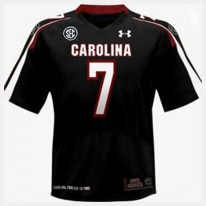 South Carolina Gamecocks Jadeveon Clowney Jersey Black Mens #7 College Football