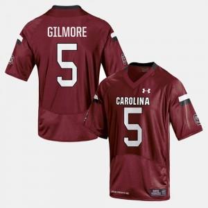 South Carolina Gamecocks Stephon Gilmore Jersey Men's College Football #5 Cardinal
