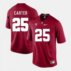 Stanford Cardinal Alex Carter Jersey College Football Cardinal #25 For Men