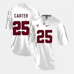 Stanford Cardinal Alex Carter Jersey #25 College Football White Men's