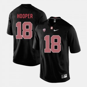 Stanford Cardinal Austin Hooper Jersey College Football Men #18 Black