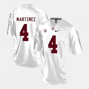 Stanford Cardinal Blake Martinez Jersey College Football White #4 Mens