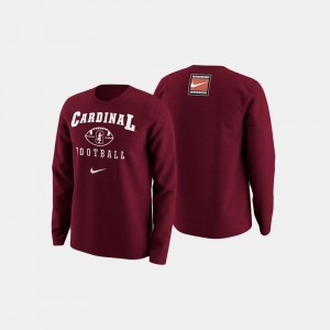 Stanford Cardinal Sweater Cardinal For Men's College Football Retro Pack