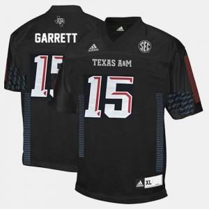 Texas A&M Aggies Myles Garrett Jersey Men's #15 College Football Black