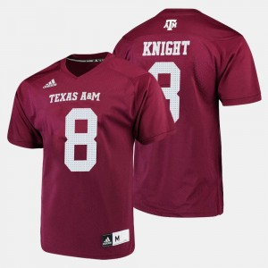 Texas A&M Aggies Trevor Knight Jersey College Football #8 Mens Maroon