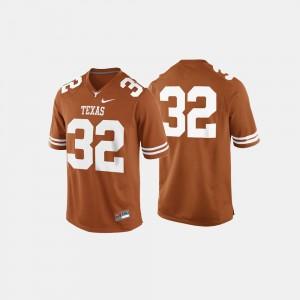 Texas Longhorns Jersey Mens College Football Burnt Orange #32