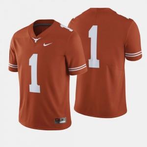 Texas Longhorns Jersey College Football For Men #1 Orange
