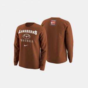 Texas Longhorns Sweater Men's College Football Retro Pack Orange