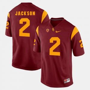 USC Trojans Adoree' Jackson Jersey #2 Pac-12 Game Men Red