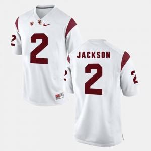 USC Trojans Adoree' Jackson Jersey For Men's White Pac-12 Game #2