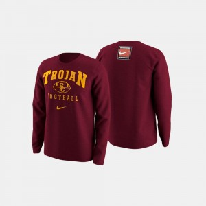 USC Trojans Sweater For Men Cardinal College Football Retro Pack