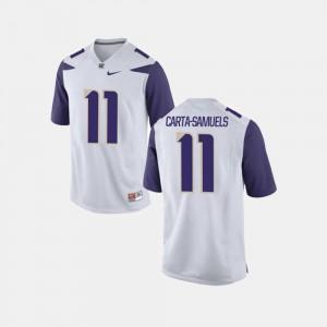 Washington Huskies K.J. Carta-Samuels Jersey College Football White Men #11