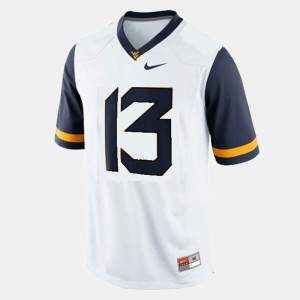 West Virginia Mountaineers Andrew Buie Jersey College Football Kids #13 White