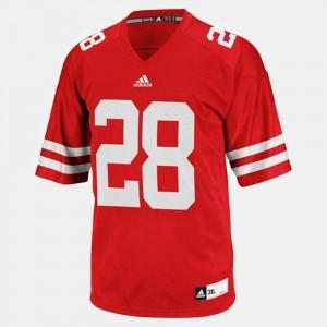 Wisconsin Badgers Montee Ball Jersey #28 Men Red College Football