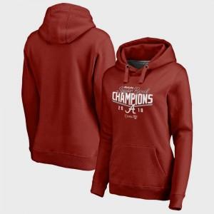Alabama Crimson Tide Hoodie College Football Playoff 2018 Sugar Bowl Champions Goal Women Crimson Bowl Game