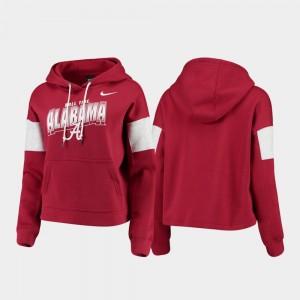 Alabama Crimson Tide Hoodie Local Pullover Women Crimson