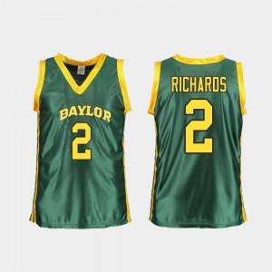 Baylor Bears DiDi Richards Jersey Replica #2 Green Women College Basketball