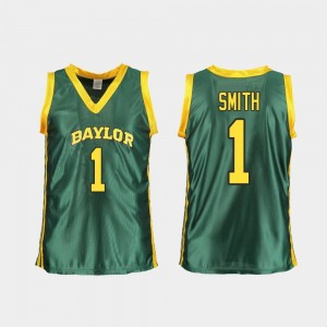 Baylor Bears NaLyssa Smith Jersey Green Women Replica College Basketball #1