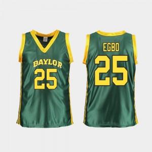 Baylor Bears Queen Egbo Jersey College Basketball Women's Replica Green #25