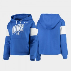 Duke Blue Devils Hoodie Local Royal Womens Pullover