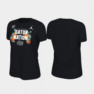 Florida Gators T-Shirt 2019 Orange Bowl Bound Womens Black