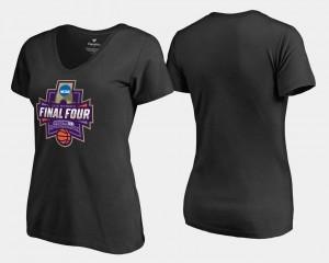 March Madness T-Shirt Women's Basketball Tournament Black Final Four Paint