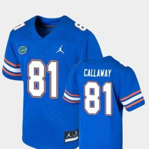 Florida Gators Antonio Callaway Jersey College Football Game Royal #81 Youth(Kids)