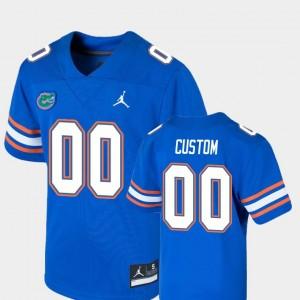 Florida Gators Customized Jersey Game #00 College Football Royal Kids