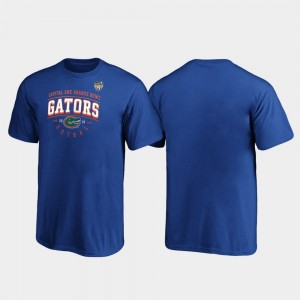 Florida Gators T-Shirt Youth(Kids) Royal Tackle 2019 Orange Bowl Bound