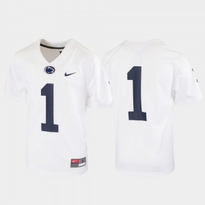 Penn State Nittany Lions Jersey Football Youth Untouchable White #1