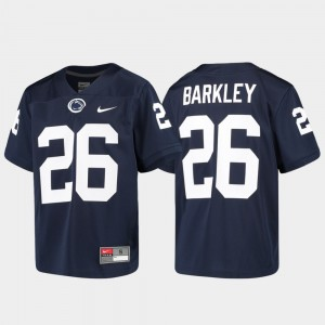Penn State Nittany Lions Saquon Barkley Jersey #26 Alumni Football Game Navy For Kids