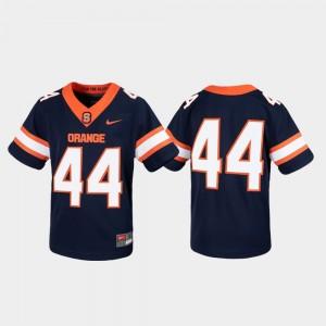 Syracuse Orange Jersey Untouchable Game Navy Youth #44