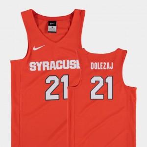 Syracuse Orange Marek Dolezaj Jersey College Basketball Youth Orange #21 Replica