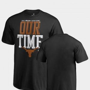Texas Longhorns T-Shirt 2019 Sugar Bowl Bound Counter Youth Black