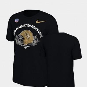 UCF Knights T-Shirt Helmet Black Youth 2019 Fiesta Bowl Bound