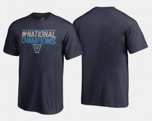 Villanova Wildcats T-Shirt Basketball National Champions Navy 2018 Dribble Kids